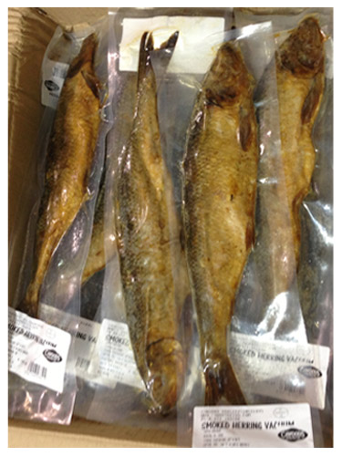 Dried salted cod cawoods quality since 1895 for Smoked herring fish